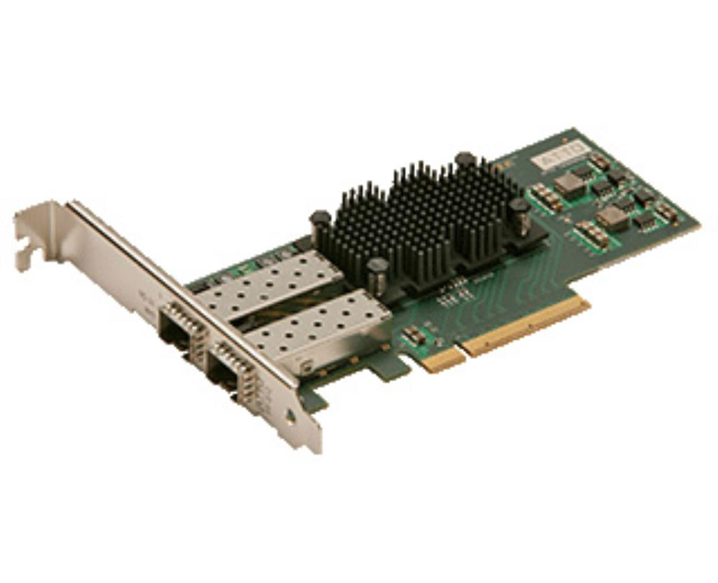FastFrame Dual Channel x8 PCIe Gen2.0 10GbE Optical SFP+ LC Low Profile HBA