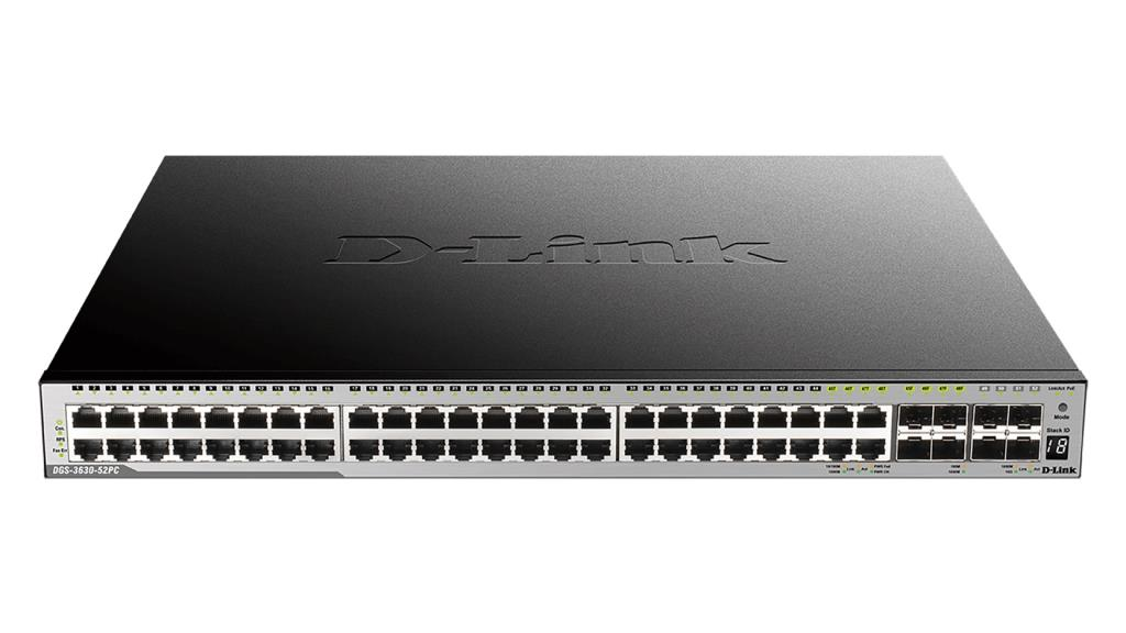 Router/Switch D-LINK DGS-3630-52PC/SI                 1