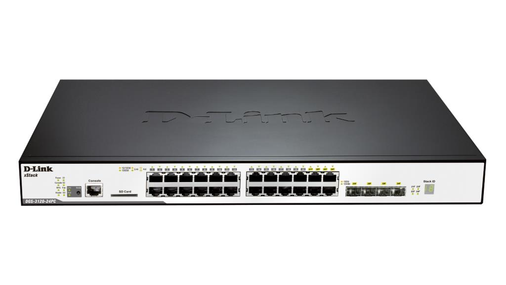 Router/Switch D-LINK DGS-3120-24PC/SI 1