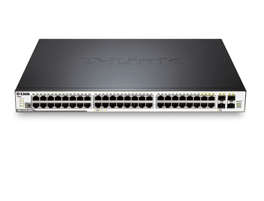 Switch Administrables - D-Link xStack3120-48PC - 48 ports Gigabit PoE+ dont 4 ports combo mini-GBIC/1000Base-T