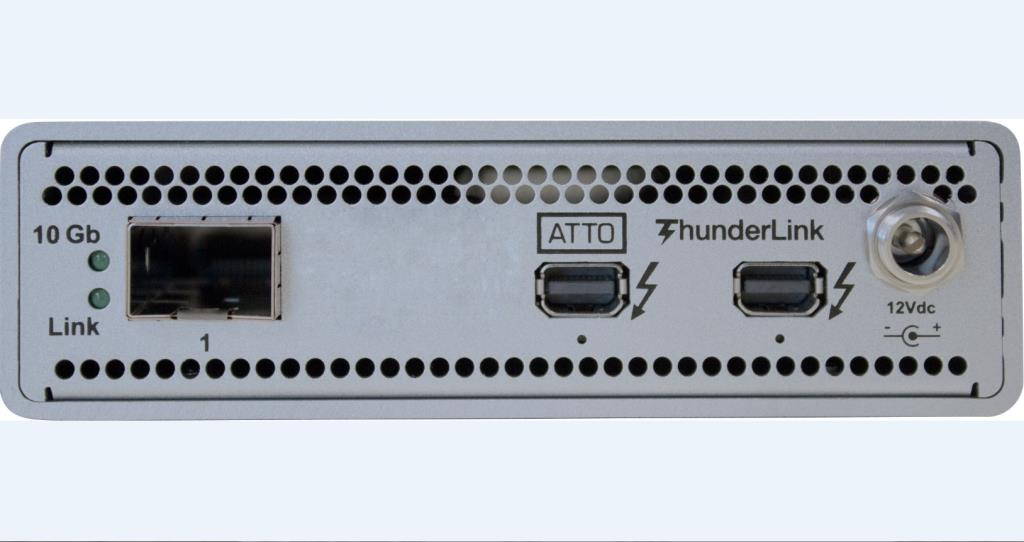 Adaptateur 20Gb/s Thunderbolt™ 2 (2-port) vers 10GbE (1-Port) -  SFPs inclu