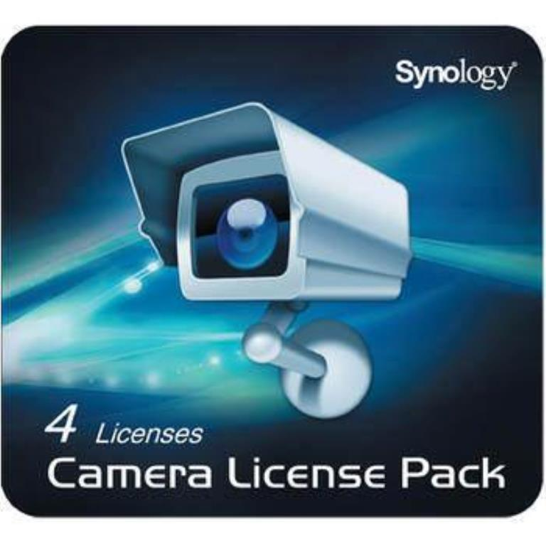 Licences Synology Pack 4 camera - Version électronique