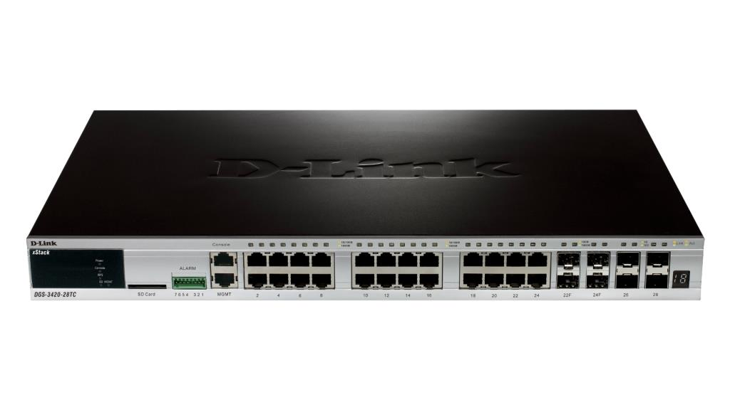 Router/Switch D-LINK DGS-3420-52T                 1