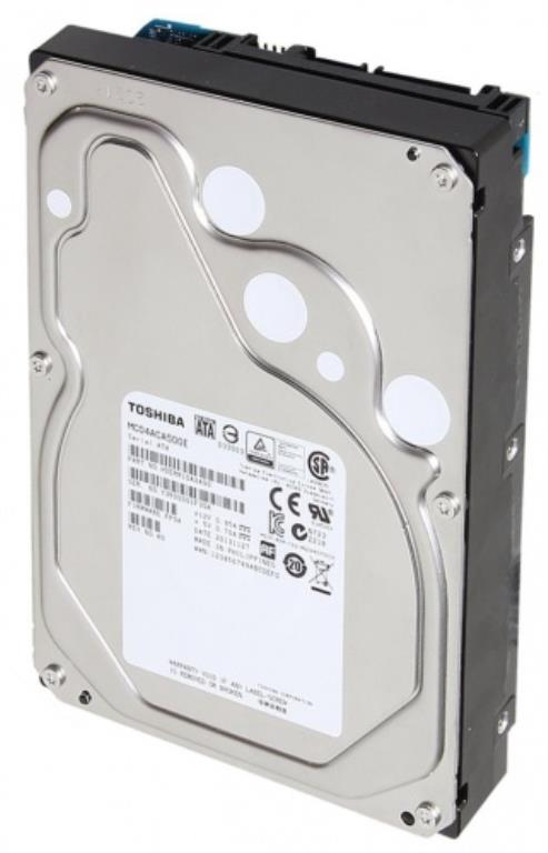 "Disque dur 3,5"" 4TB - 7200rpm - SATA 6Gbps - 128MB - Toshiba Enterprise Capacity HDD - 24/7"