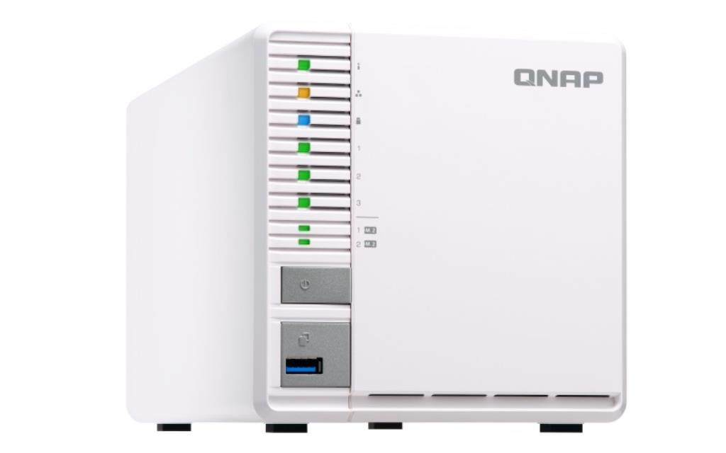 NAS QNAP TS-351-4G / 30TB - Disques Seagate IronWolf Pro NAS  2