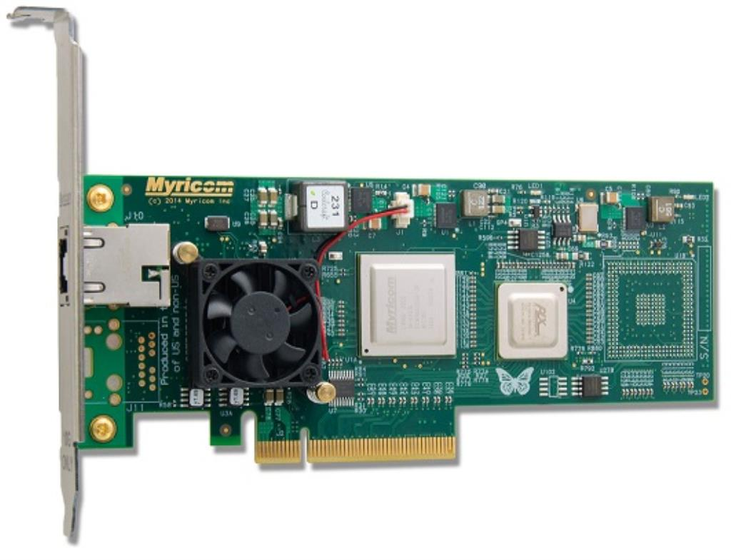 Carte réseau - PCI Express 10 Gigas - Single port