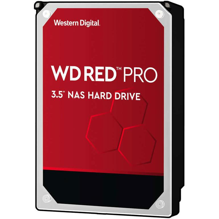 "Disque dur 3,5"" 12TB - 7200rpm - SATA 6Gbps - 256MB - WD Red Pro"