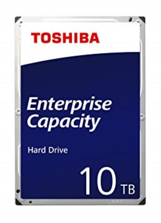"Disque dur 3,5"" 8TB - 7200rpm - SATA 6Gbps - 128MB - Toshiba Enterprise Capacity HDD - 24/7"