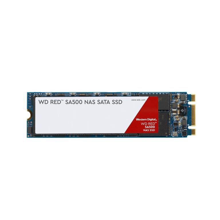 SSD M.2 2280 500GB - SATA 6Gbps - 0.38 DWPD - Western Digital Red SA500