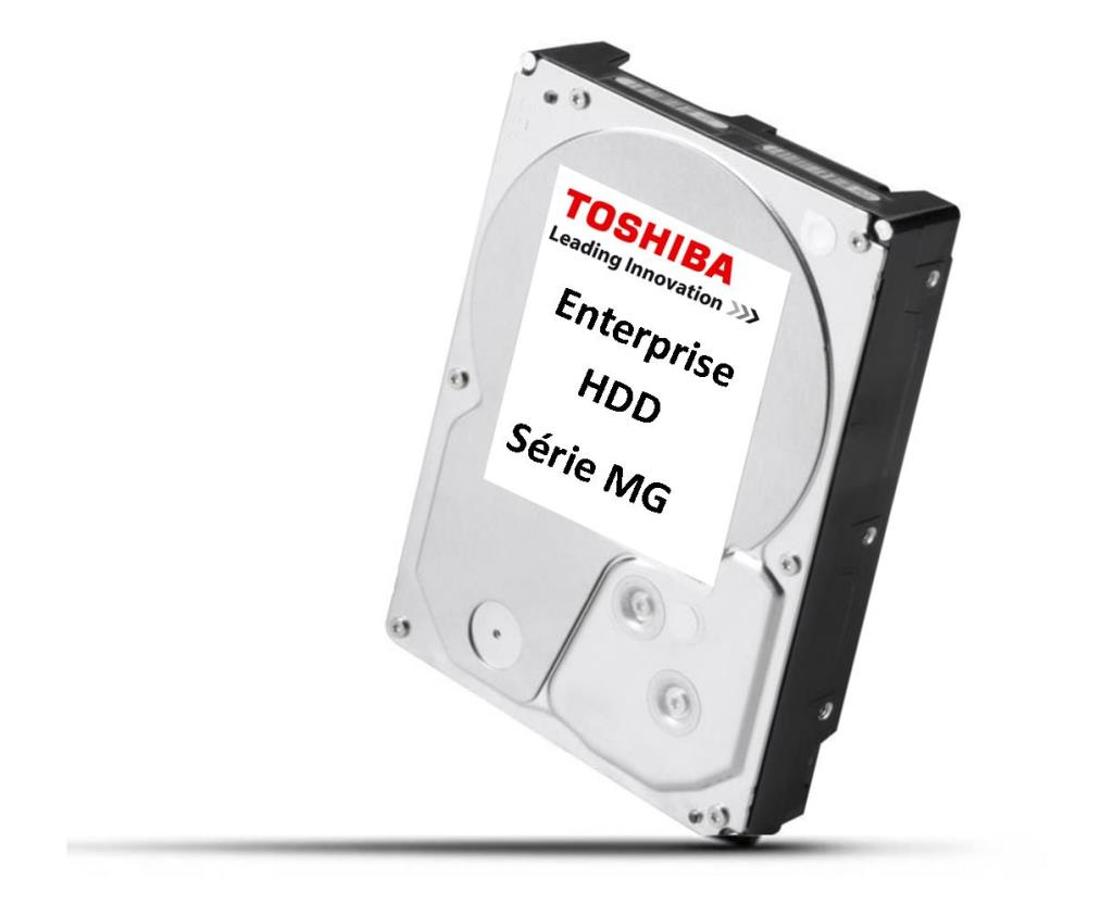 "Disque dur - 3,5"" 6TB - 7200rpm - SATA 6Gbps - 128MB - Toshiba Enterprise Capacity HDD - 24/7"