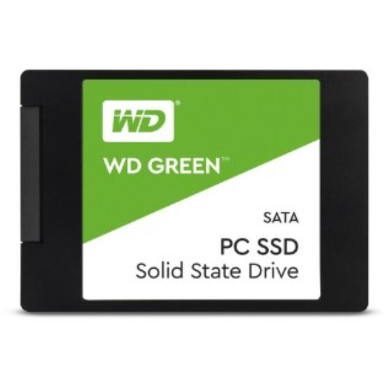 "SSD 2,5"" 120GB- 545/430MBps - SATA 6Gbps - Western Digital Green PC SSD 7mm"