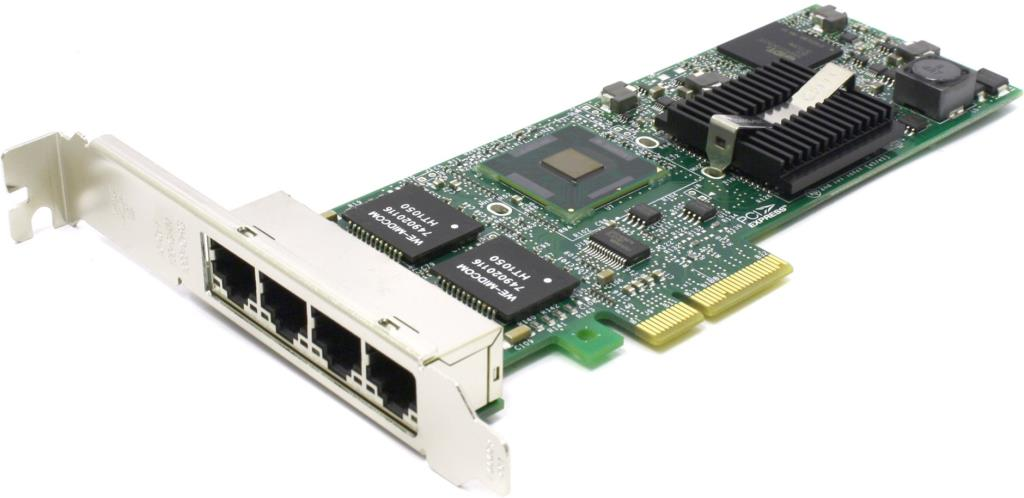 Carte PCIe Gigabit Ethernet 4x port RJ45