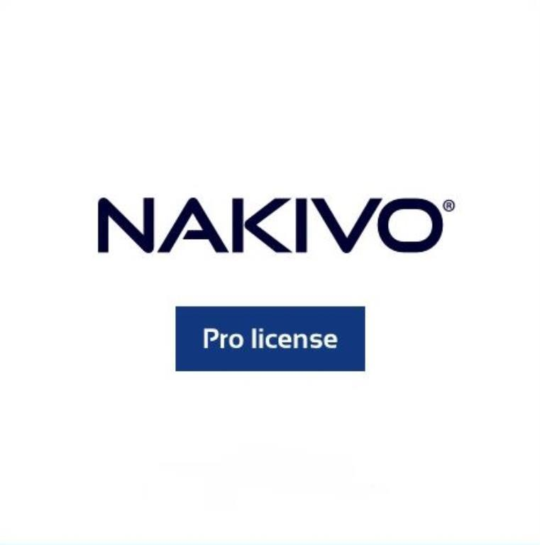 NAKIVO Backup & Replication Pro EDUCATION pour Workstations - 5 Workstations - Support et mises à jour 1 an inclus
