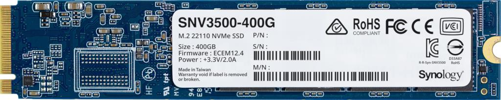 SSD NVMe M.2 22110 ENTERPRISE VALUE 400GB SYNOLOGY