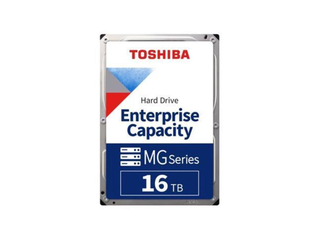 "Disque dur 3,5"" 16TB - 7200rpm - SATA 6Gbps - 512MB - Toshiba Enterprise Capacity HDD"