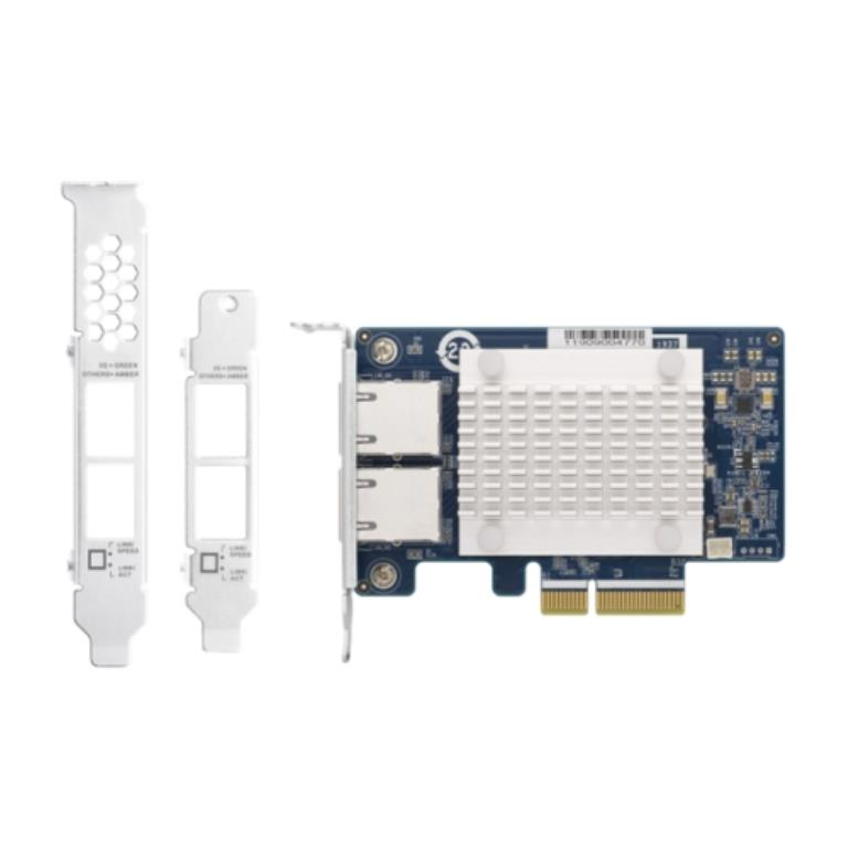 Carte Ethernet QNAP Double-port 5Gb (NBASE-T) , PCIe Gen 2 x1