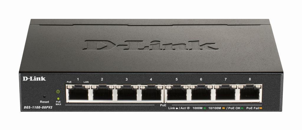 Router/Switch D-LINK DGS-1100-08PV2                 1