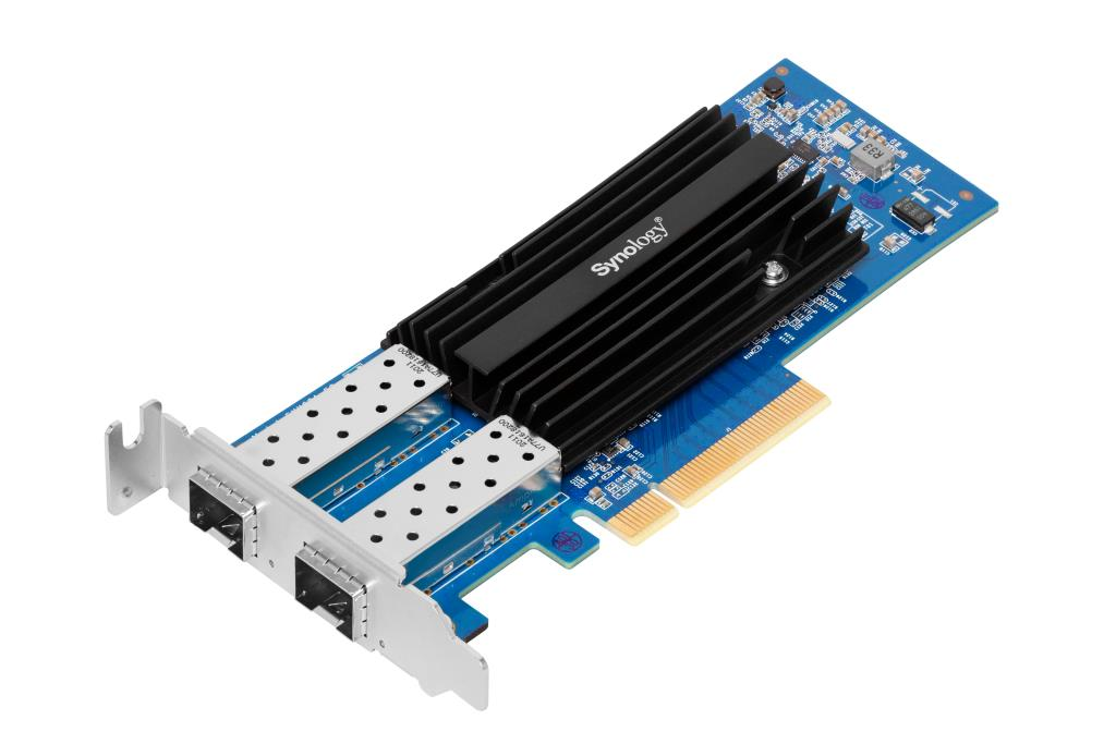 Synology Carte réseau 10Gb/s SFP+ dual port (modules non inclus)