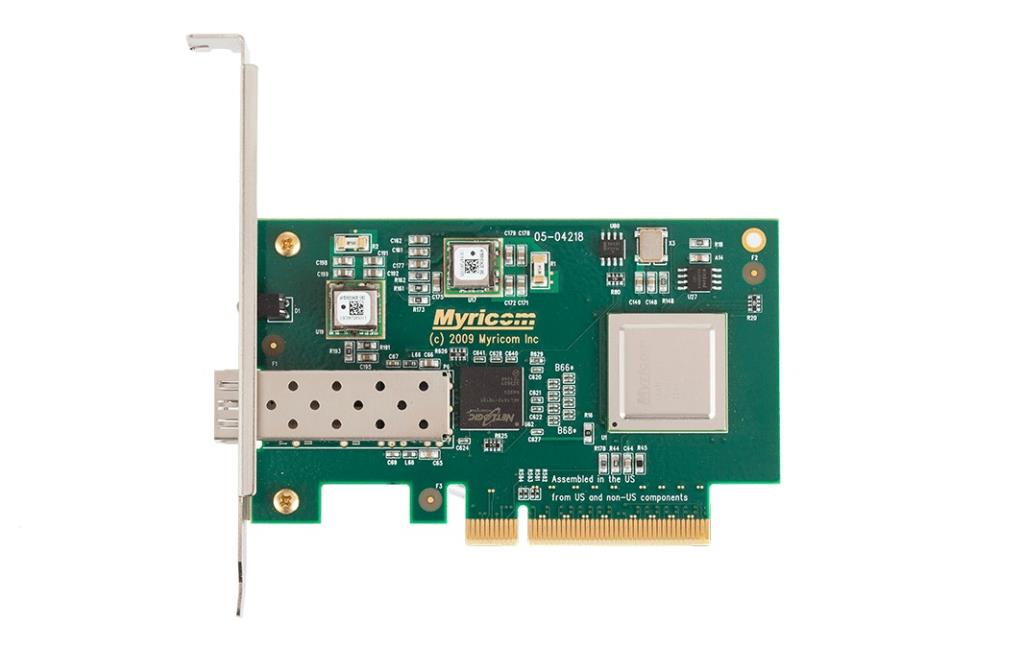 Carte réseau - PCI Express 10 Gigas - Single port - sans transceiver